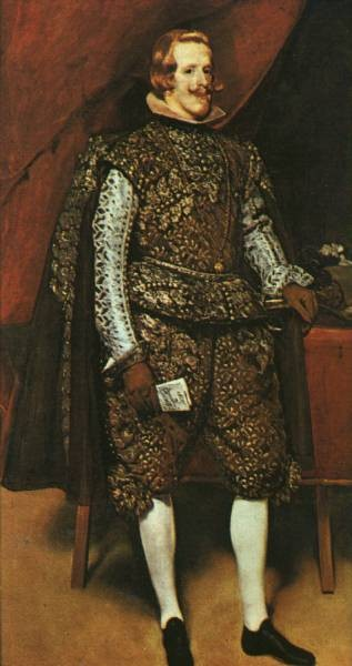 Philip IV in Brown and Silver 1